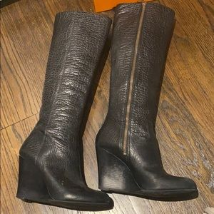 Tory Burch wedge boot